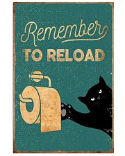 REMEMBER TO RELOAD 11x17 Poster front