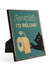 REMEMBER TO RELOAD 8x10 Easel-Back Gallery Wrapped Canvas thumbnail