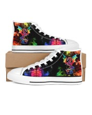 DRAGON AND FIRE HIGH TOP Men's High Top White Shoes thumbnail