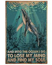 AND INTO THE OCEAN I GO POSTER 11x17 Poster front