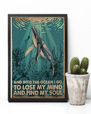 AND INTO THE OCEAN I GO POSTER 11x17 Poster lifestyle-poster-8