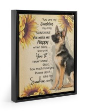 YOU ARE MY SUNSHINE MY ONLY SUNSHINE POSTER 11x14 Black Floating Framed Canvas Prints thumbnail