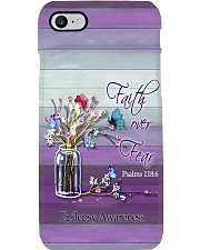 FAITH OVER FEAR - EPILEPSY Phone Case i-phone-8-case