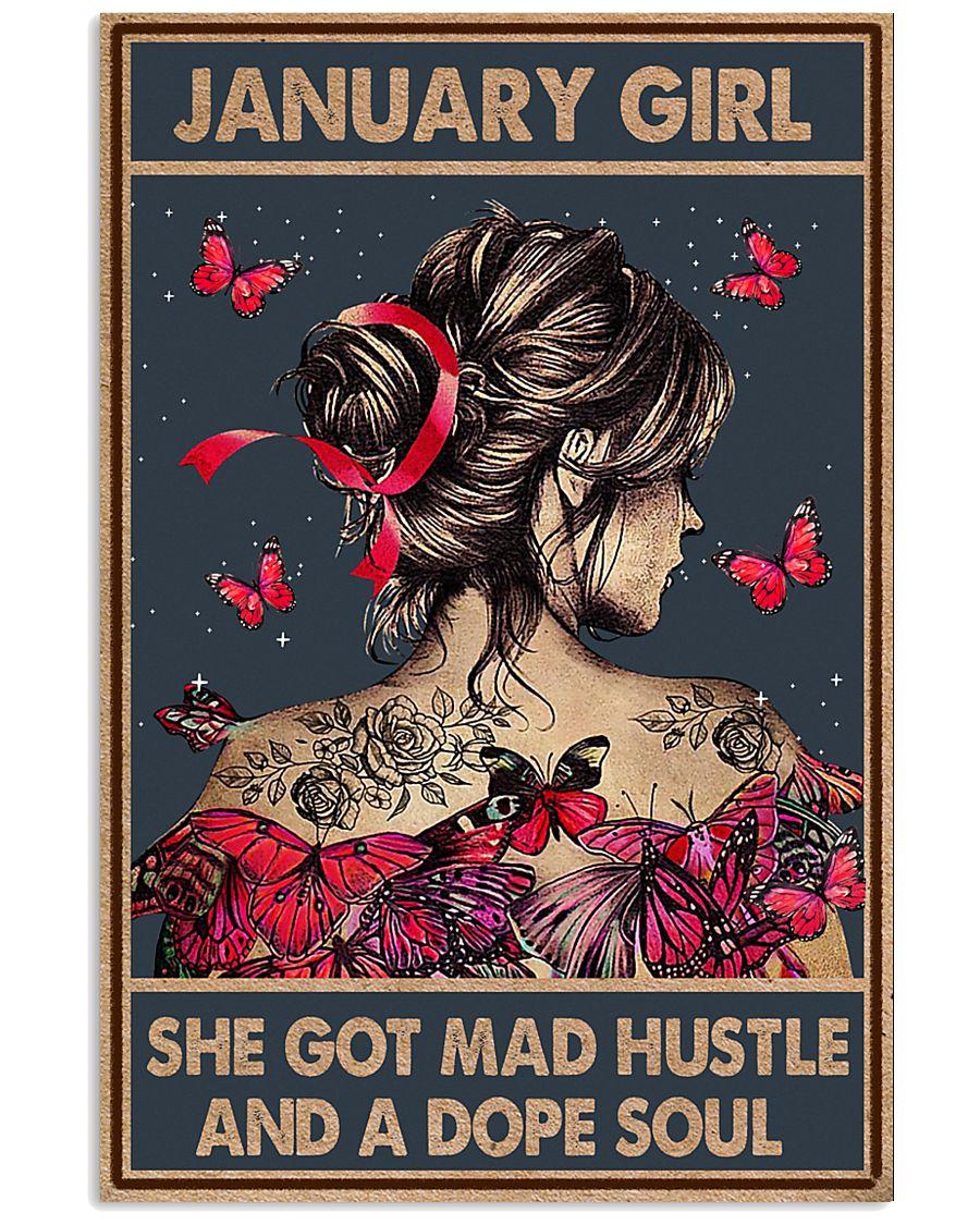 JANUARY GIRL 11x17 Poster