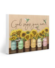 GOD SAYS YOU ARE Gallery Wrapped Canvas Prints tile