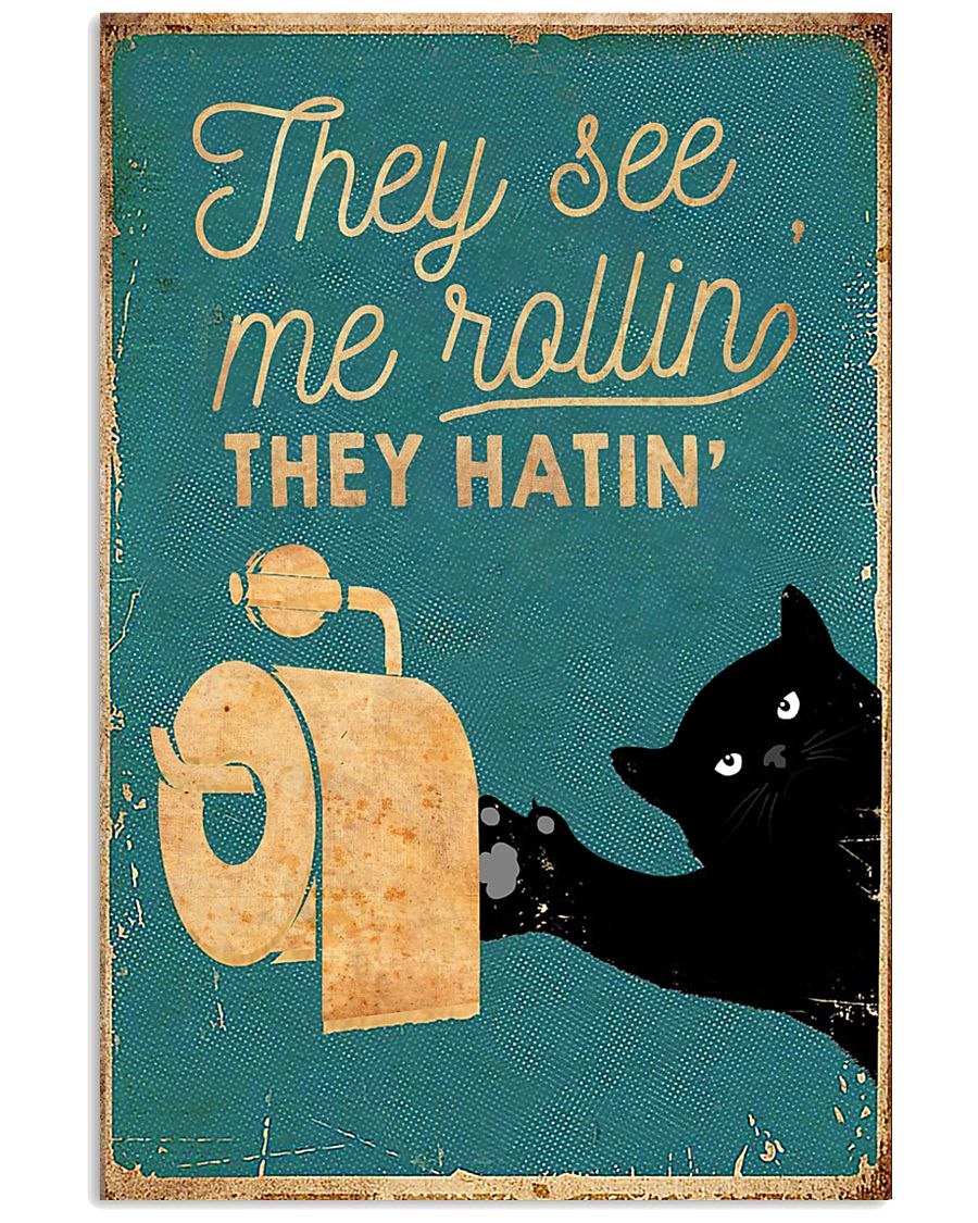 THEY SEE ME ROLLIN 11x17 Poster
