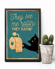 THEY SEE ME ROLLIN 11x17 Poster lifestyle-poster-8