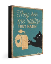 THEY SEE ME ROLLIN 11x14 Gallery Wrapped Canvas Prints thumbnail