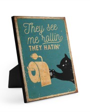 THEY SEE ME ROLLIN 8x10 Easel-Back Gallery Wrapped Canvas thumbnail
