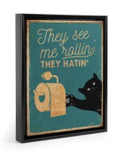 THEY SEE ME ROLLIN 11x14 Black Floating Framed Canvas Prints thumbnail