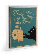 THEY SEE ME ROLLIN 11x14 White Floating Framed Canvas Prints thumbnail