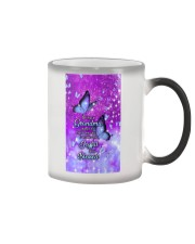 BEING A GRANDMA DOESN'T MAKE ME OLD - PC Color Changing Mug tile
