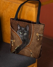 Black cat Tote Bag All-over Tote aos-all-over-tote-lifestyle-front-02