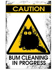 BUM CLEANING 11x17 Poster front