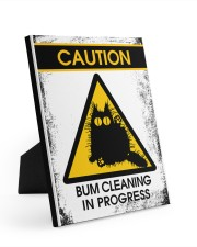 BUM CLEANING 8x10 Easel-Back Gallery Wrapped Canvas thumbnail