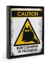 BUM CLEANING 11x14 Black Floating Framed Canvas Prints thumbnail