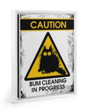 BUM CLEANING 11x14 White Floating Framed Canvas Prints thumbnail