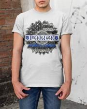 BACK THE BLUE Classic T-Shirt apparel-classic-tshirt-lifestyle-31