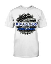 BACK THE BLUE Classic T-Shirt front