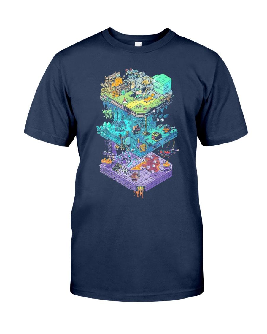 ISOMETRIC DND GAME  Classic T-Shirt