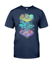 ISOMETRIC DND GAME  Classic T-Shirt front