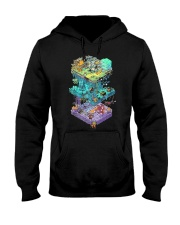 ISOMETRIC DND GAME  Hooded Sweatshirt thumbnail