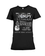 GRUMPY-OLD-MAN-SHIRT Premium Fit Ladies Tee thumbnail