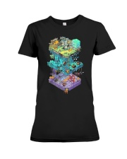 ISOMETRIC DND GAME  Premium Fit Ladies Tee thumbnail