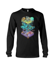 ISOMETRIC DND GAME  Long Sleeve Tee thumbnail
