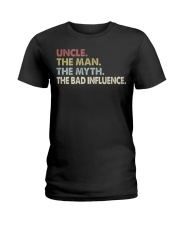 UNCLE THE BAD INFLUENCE Ladies T-Shirt thumbnail