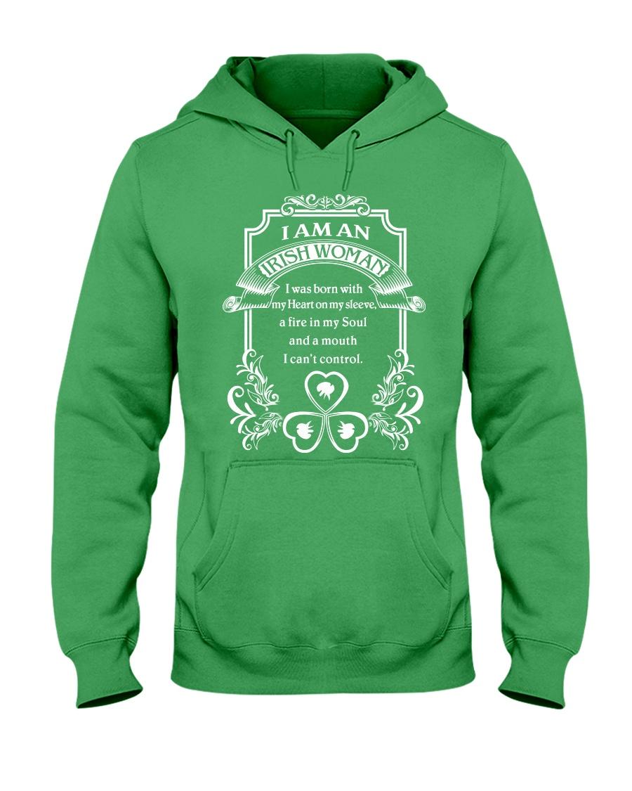 I Am An Irish Woman Hooded Sweatshirt