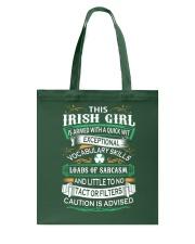 Irish Girl Tote Bag thumbnail