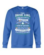 Irish Girl Crewneck Sweatshirt thumbnail