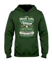 Irish Girl Hooded Sweatshirt front