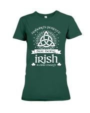 Being Irish Premium Fit Ladies Tee thumbnail
