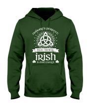 Being Irish Hooded Sweatshirt front
