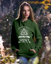 Being Irish Hooded Sweatshirt lifestyle-holiday-hoodie-front-5
