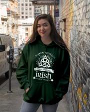 Being Irish Hooded Sweatshirt lifestyle-unisex-hoodie-front-1