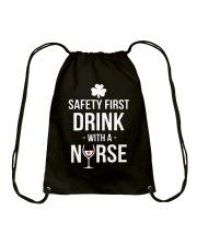 Irish Nurse Drawstring Bag thumbnail