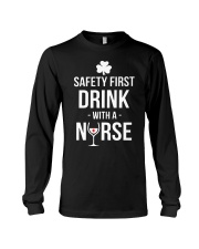Irish Nurse Long Sleeve Tee thumbnail