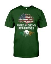 American Grown Irish Roots Classic T-Shirt thumbnail