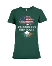 American Grown Irish Roots Premium Fit Ladies Tee thumbnail
