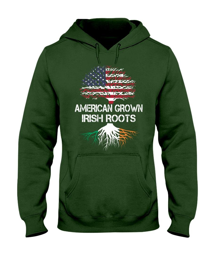American Grown Irish Roots Hooded Sweatshirt