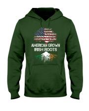 American Grown Irish Roots Hooded Sweatshirt front