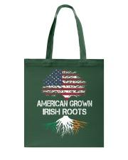 American Grown Irish Roots Tote Bag thumbnail