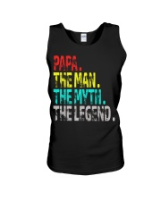 papa the man the myth the legend Unisex Tank thumbnail