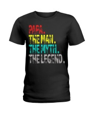 papa the man the myth the legend Ladies T-Shirt thumbnail
