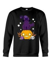 CAT HALLOWEEN Crewneck Sweatshirt thumbnail