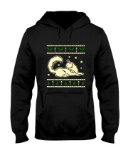 Christmas Maine Coon Cat Hooded Sweatshirt thumbnail