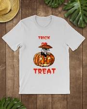 TRICK OR  TREAT Classic T-Shirt lifestyle-mens-crewneck-front-18